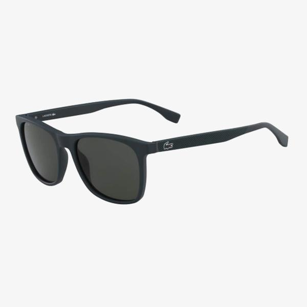 Lacoste Modified Rectangle Erkek Mavi Güneş Gözlüğü