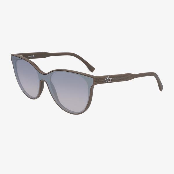 Lacoste Shield Kadın Kahverengi Güneş Gözlüğü
