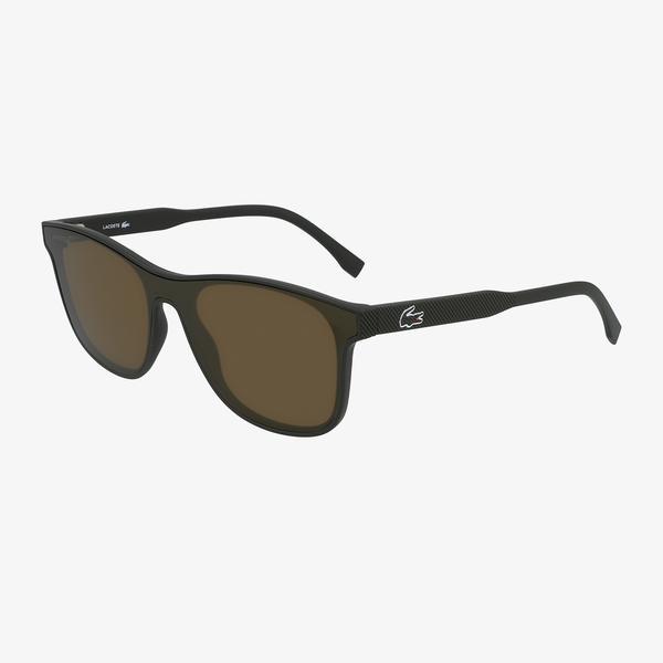 Lacoste Shield Erkek Yeşil Güneş Gözlüğü