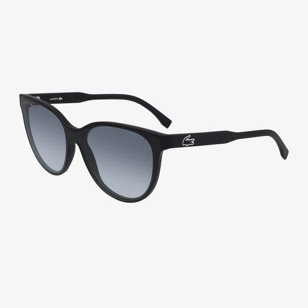 Lacoste Shield Kadın Siyah Güneş Gözlüğü