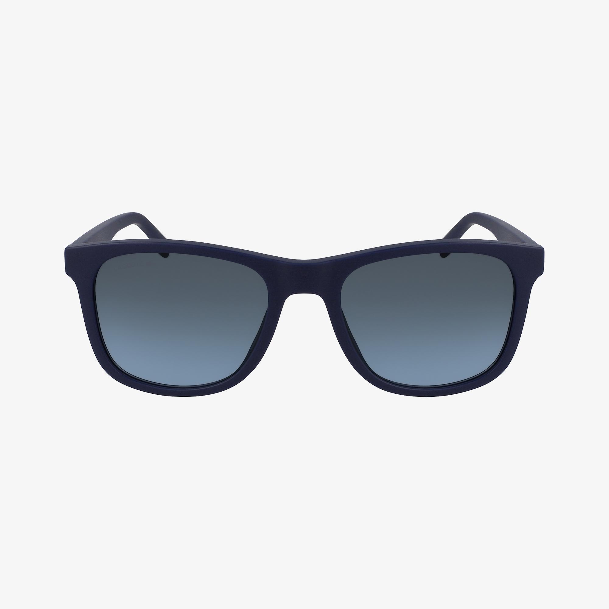 Lacoste Rectangle Unisex Mavi Güneş Gözlüğü