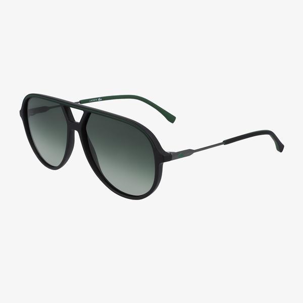 Lacoste Aviator Erkek Siyah Güneş Gözlüğü