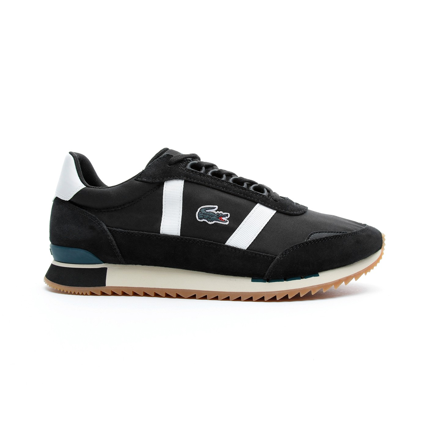 Lacoste Partner Retro Erkek Siyah - Bej Spor Ayakkabı