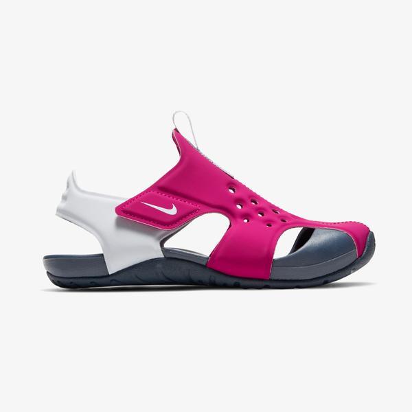 Nike Sunray Protect 2 Çocuk Kırmızı Spor Sandalet