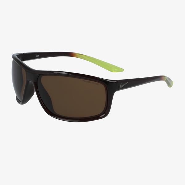 Nike Modified Rectangle Erkek Kahverengi Gözlük