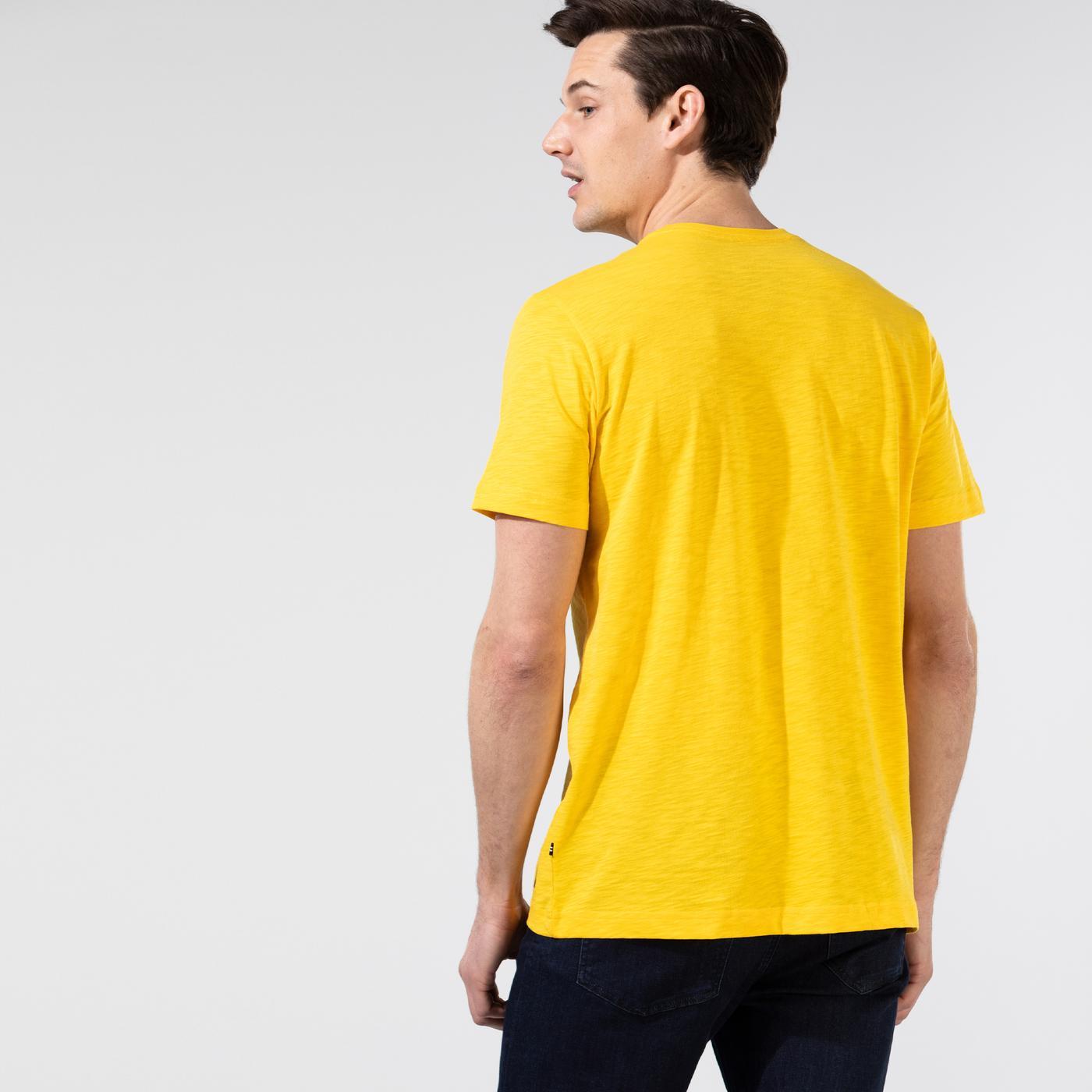 Nautica Erkek Sarı T-Shirt