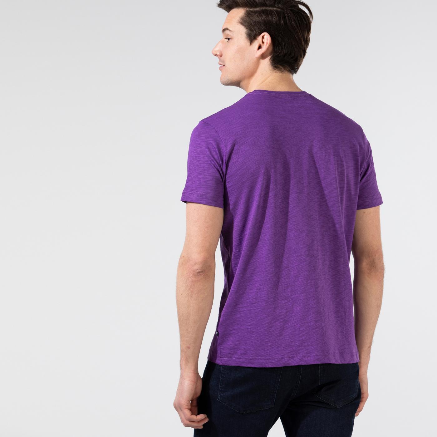 Nautica Erkek Mor T-Shirt
