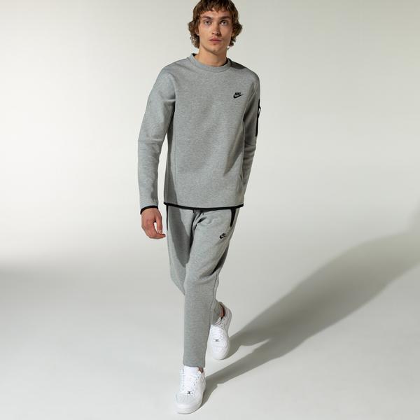 Nike Tech Erkek Gri Eşofman Altı