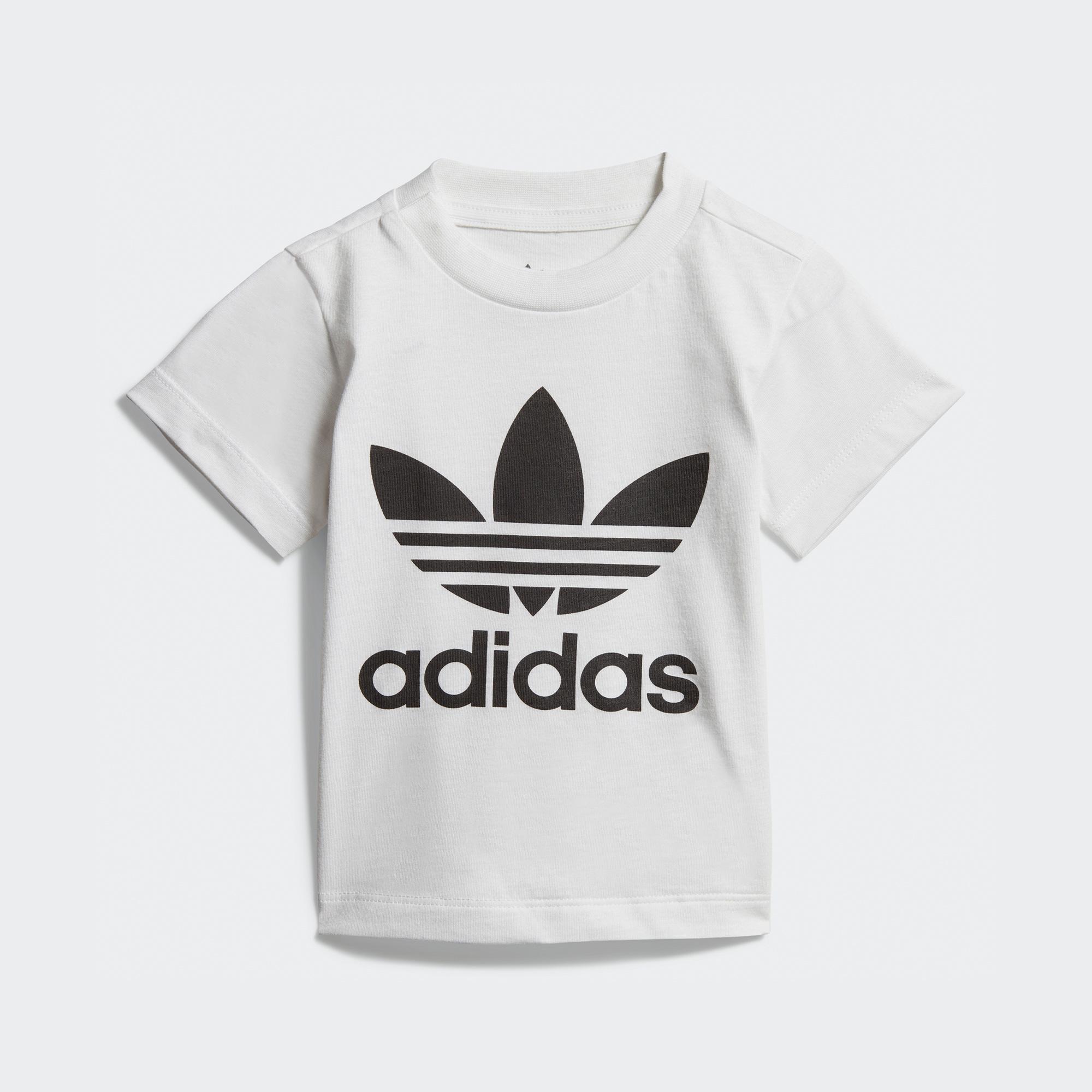 adidas Trefoil Bebek Beyaz T-Shirt