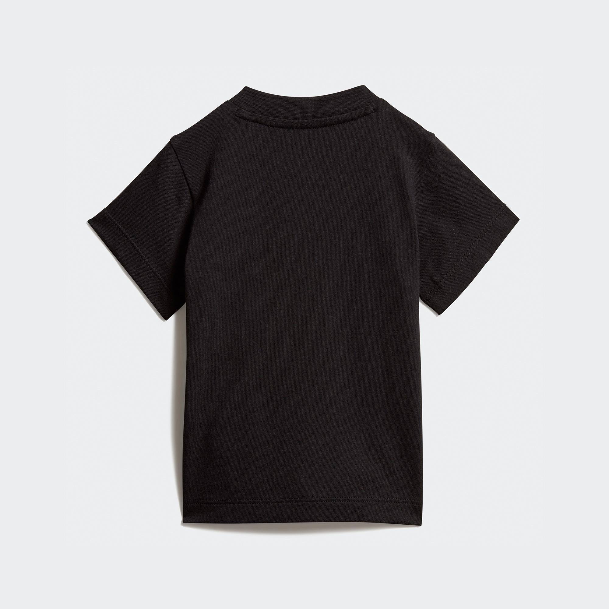 adidas Trefoil Bebek Siyah T-Shirt