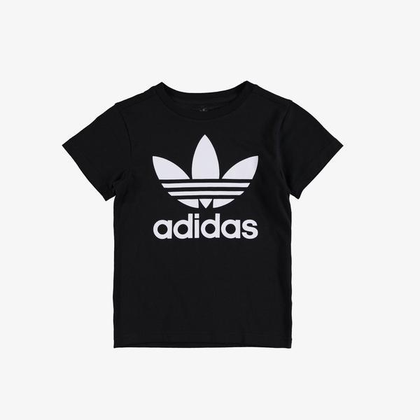 adidas Trefoil Çocuk Siyah T-Shirt