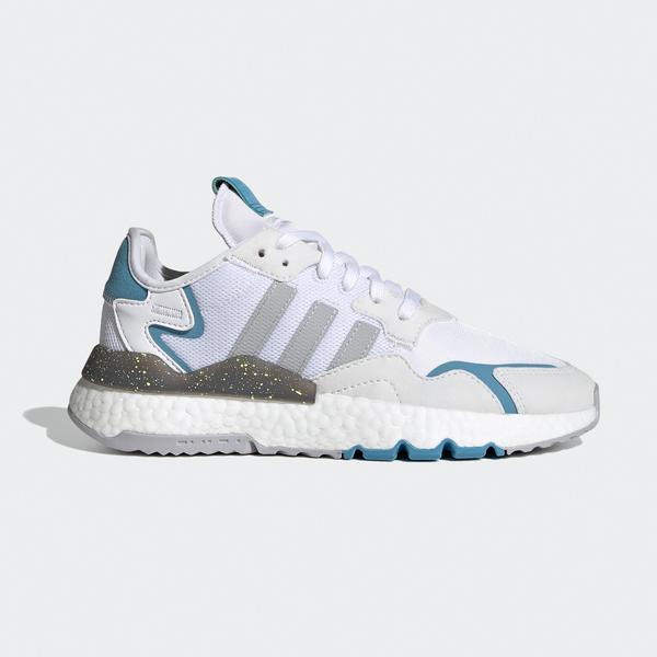adidas Nite Jogger Kadın Beyaz Spor Ayakkabı