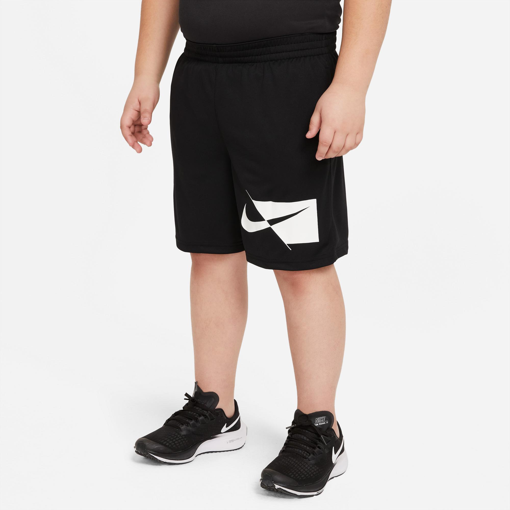 Nike Dri-Fit Çocuk Siyah Şort