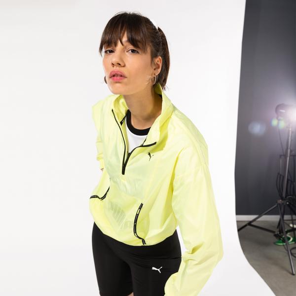 Puma Train Logo Kadın Sarı Sweatshirt
