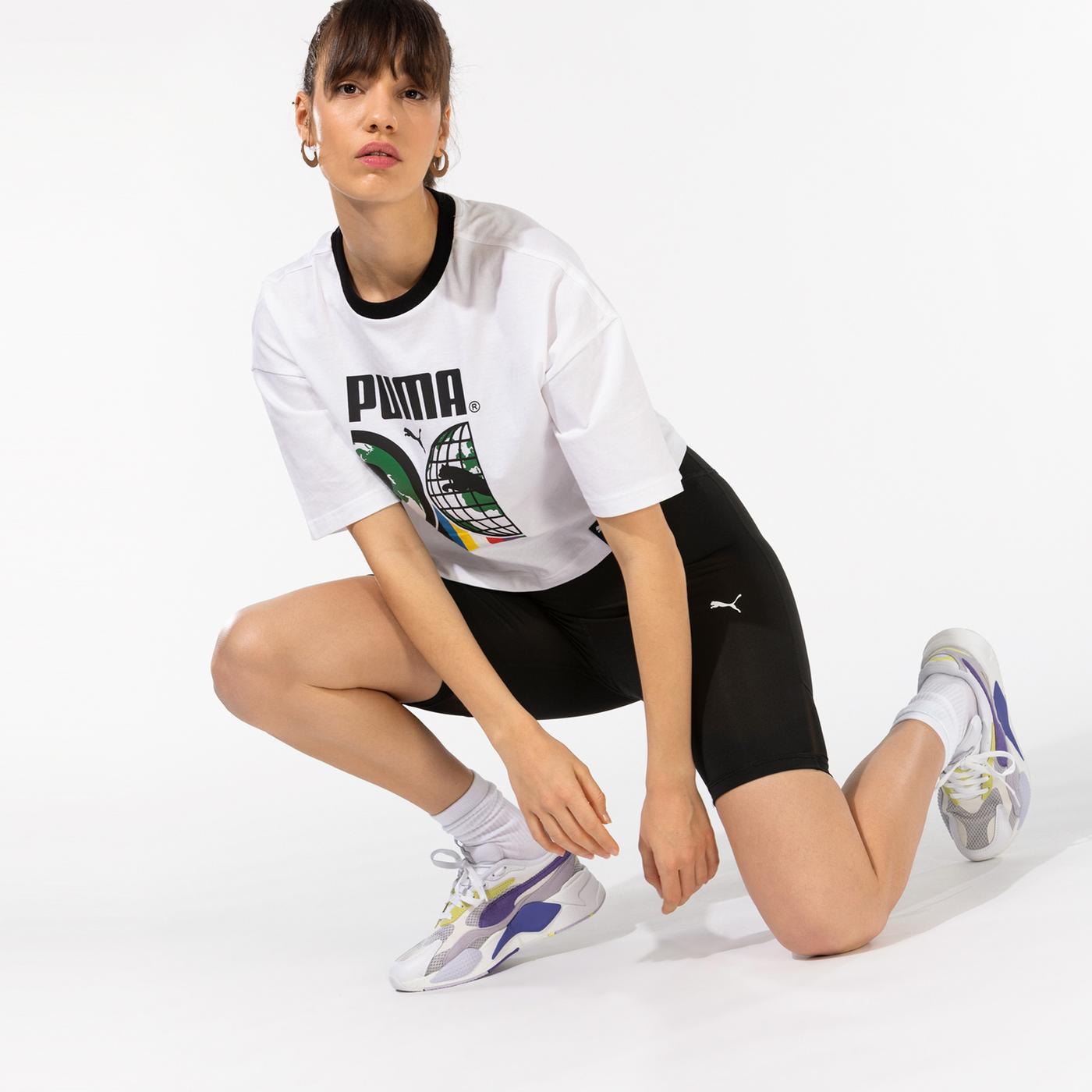 Puma Train Favorite Kadın Siyah Şort