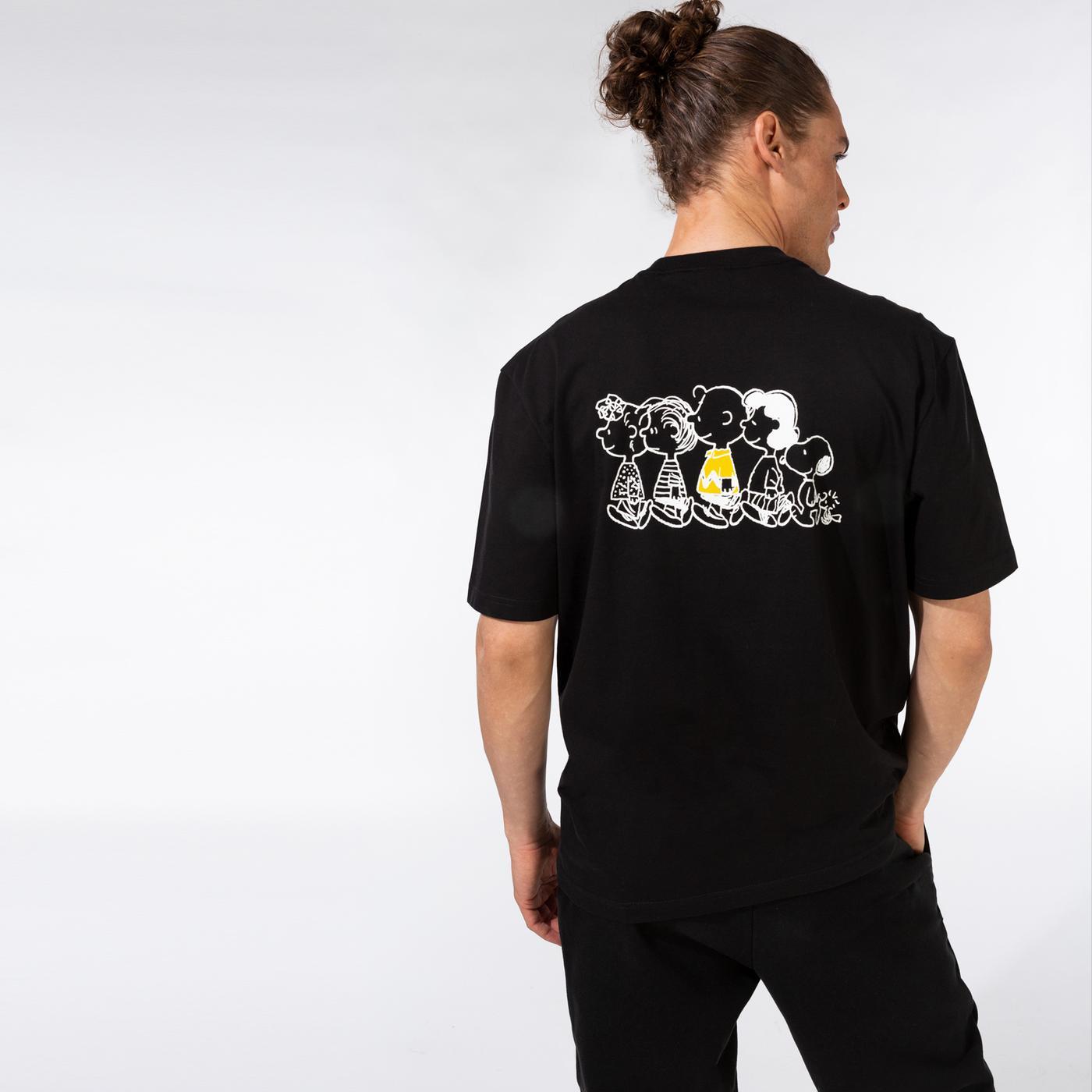 Puma X Peanuts Erkek Siyah T-Shirt