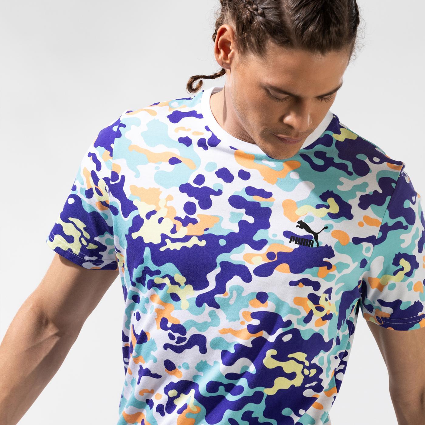Puma Classics Graphics Erkek Renkli T-Shirt
