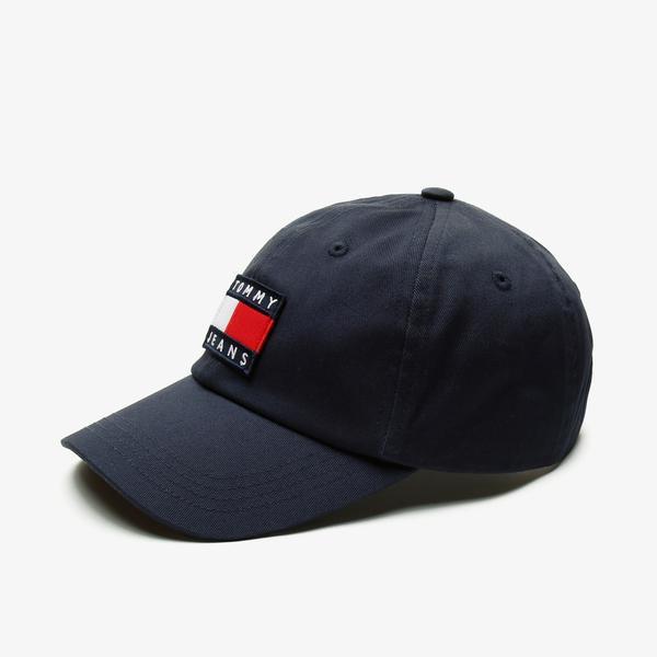 Tommy Hilfiger TJM Heritage Erkek Lacivert Şapka