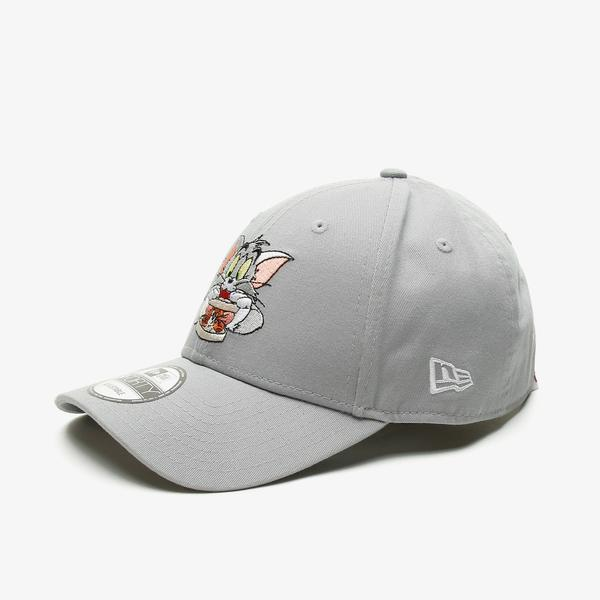 New Era Tom And Jerry 9Forty Tomjer Unisex Gri Şapka
