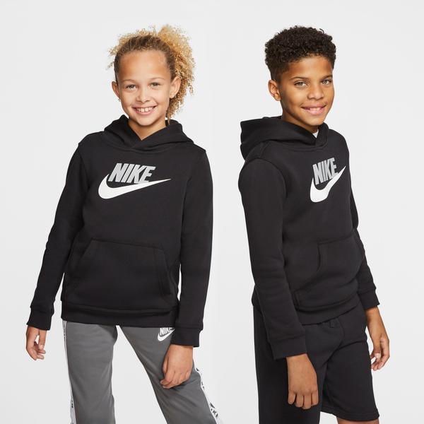 Nike Sportswear Club Fleece Çocuk Siyah Sweatshirt