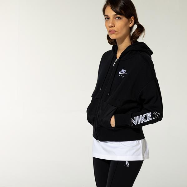 Nike Air Kadın Siyah Eşofman Üstü