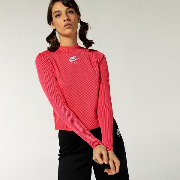 Nike Air Kadın Kırmızı T-Shirt