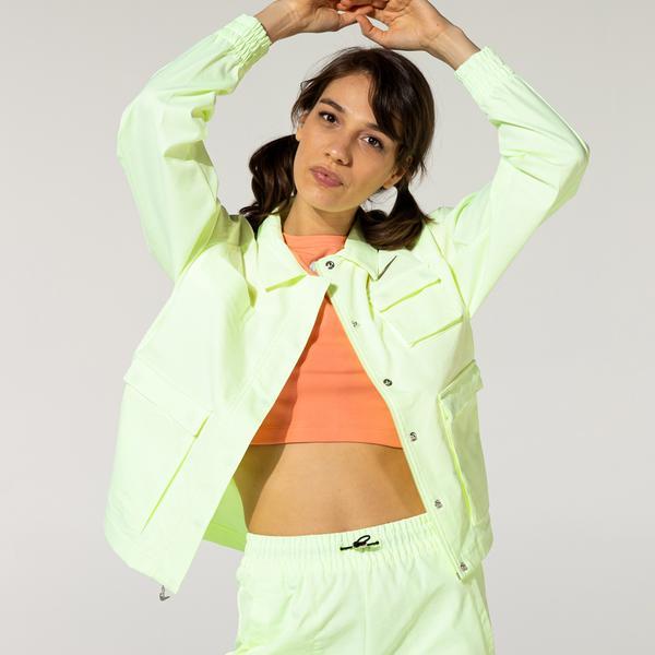 Nike Sportswear Swoosh Kadın Sarı Ceket