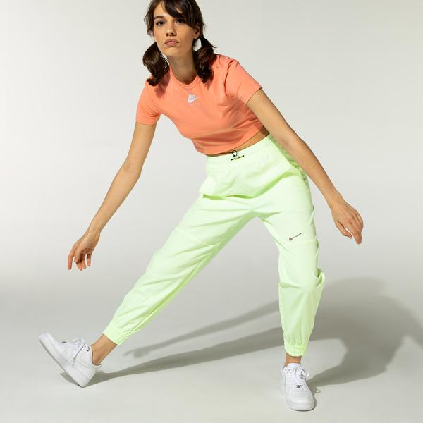 Nike Sportswear Swoosh Kadın Sarı Eşofman Altı