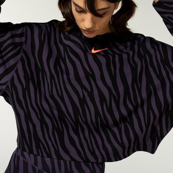 Nike Sportswear Icon Clash Kadın Mor T-Shirt