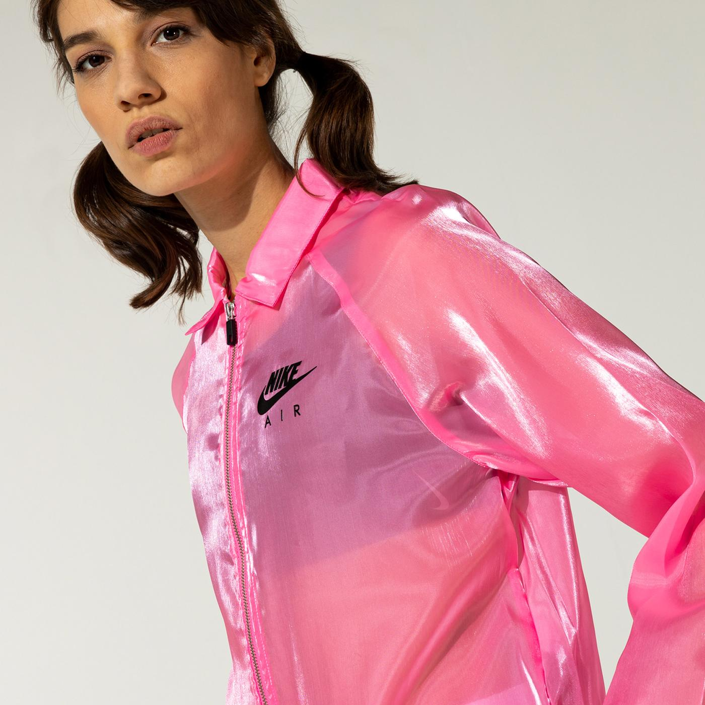 Nike Air Coach Sheen Kadın Pembe Ceket