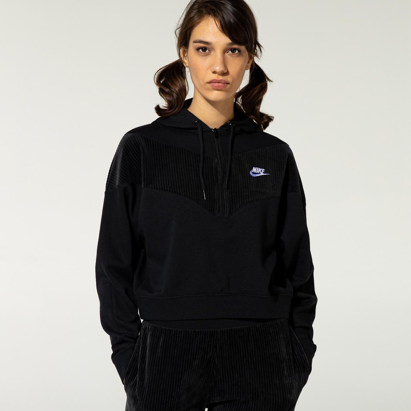 Nike Kadın Kahverengi Sweatshirt