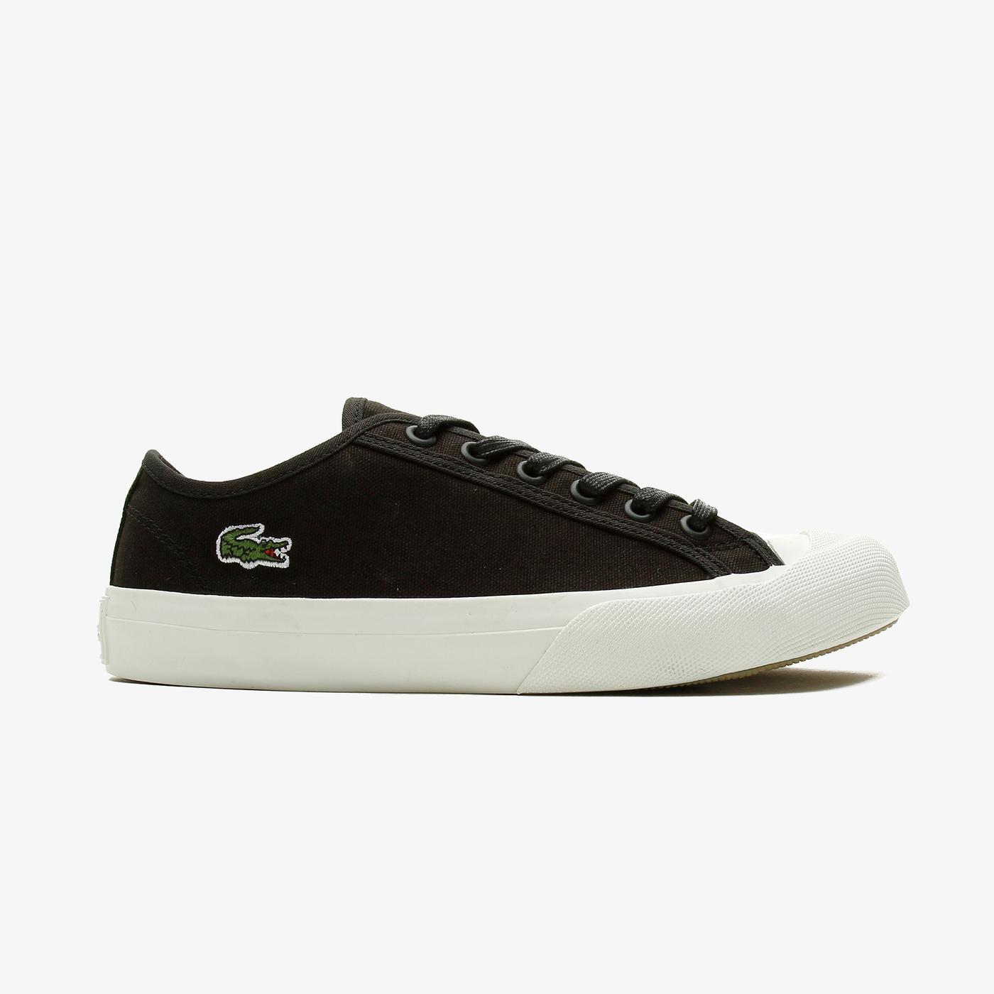 Lacoste Topskill 0721 2 Cfa Kadın Siyah - Beyaz Spor Ayakkabı