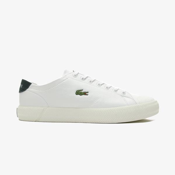 Lacoste Gripshot 0120 1 Cma Erkek Beyaz - Koyu Yeşil Spor Ayakkabı
