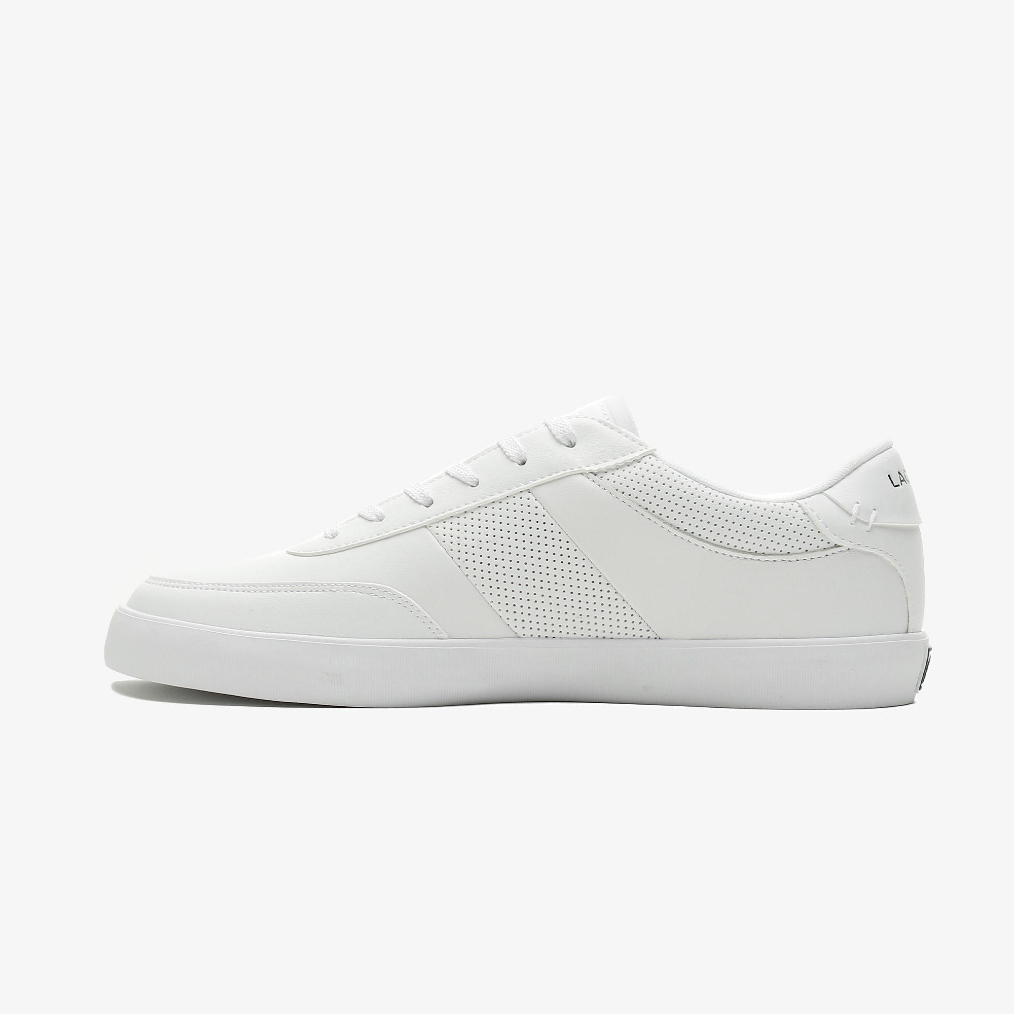Lacoste Court-Master 0721 1 Cma Erkek Beyaz Spor Ayakkabı