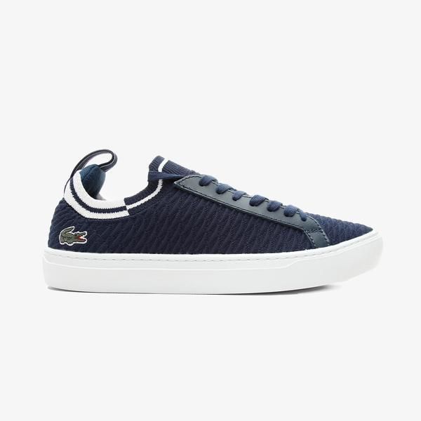 Lacoste La Piquee 0721 1 Cma Erkek Lacivert - Beyaz Spor Ayakkabı