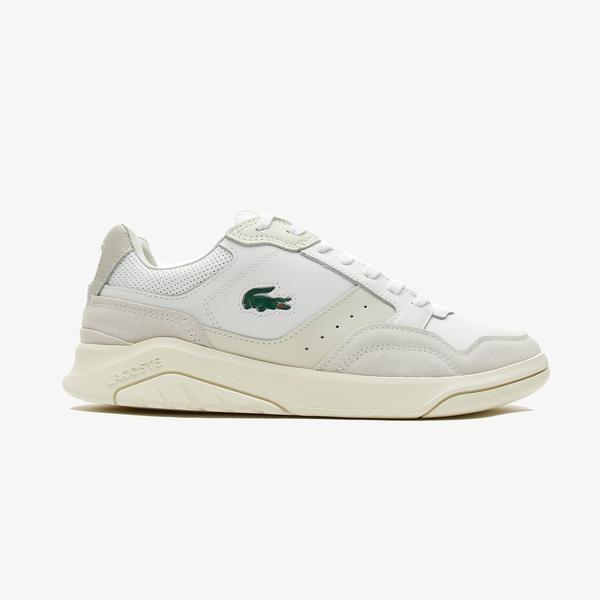 Lacoste Game Advance Luxe07211Sma Erkek Beyaz Spor Ayakkabı