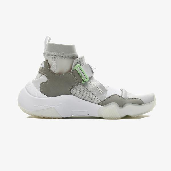 Lacoste Ut-Lt Modular 0721 1 Sfa Kadın Açık Gri - Beyaz Spor Ayakkabı