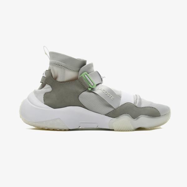 Lacoste Ut-Lt Modular 0721 1 Sma Erkek Gri - Beyaz Spor Ayakkabı