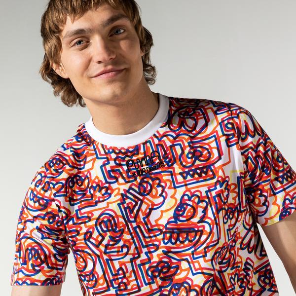 Puma X Mr Doodle Erkek Renkli T-Shirt