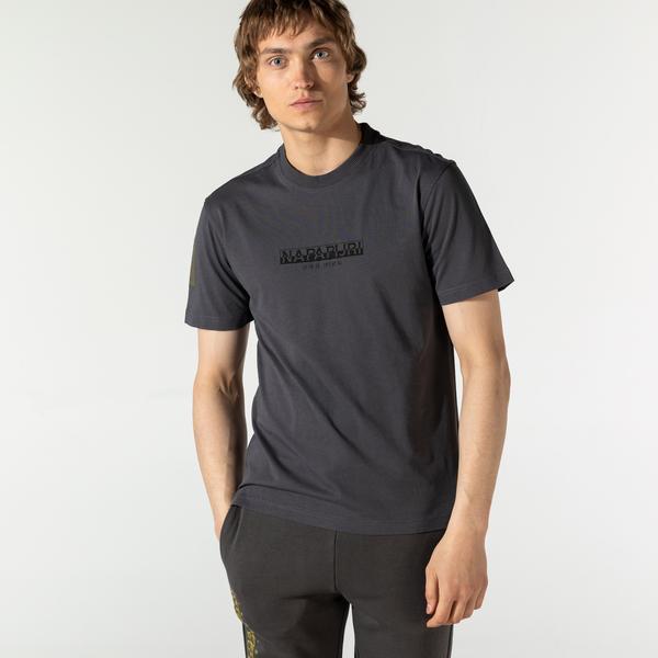 Napapijri Erkek Gri T-Shirt