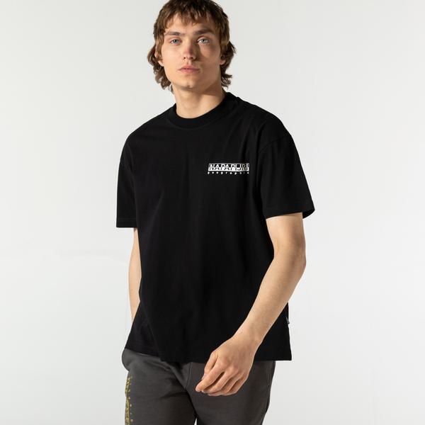 Napapijri Erkek Siyah T-Shirt