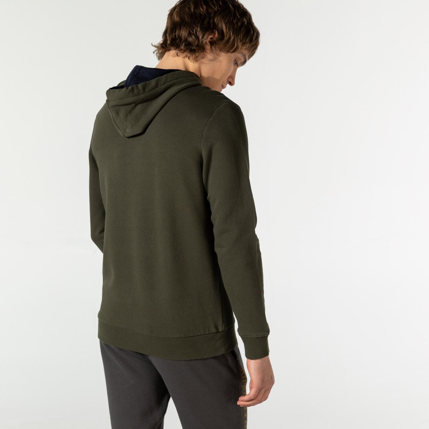 Napapijri Erkek Yeşil Sweatshirt