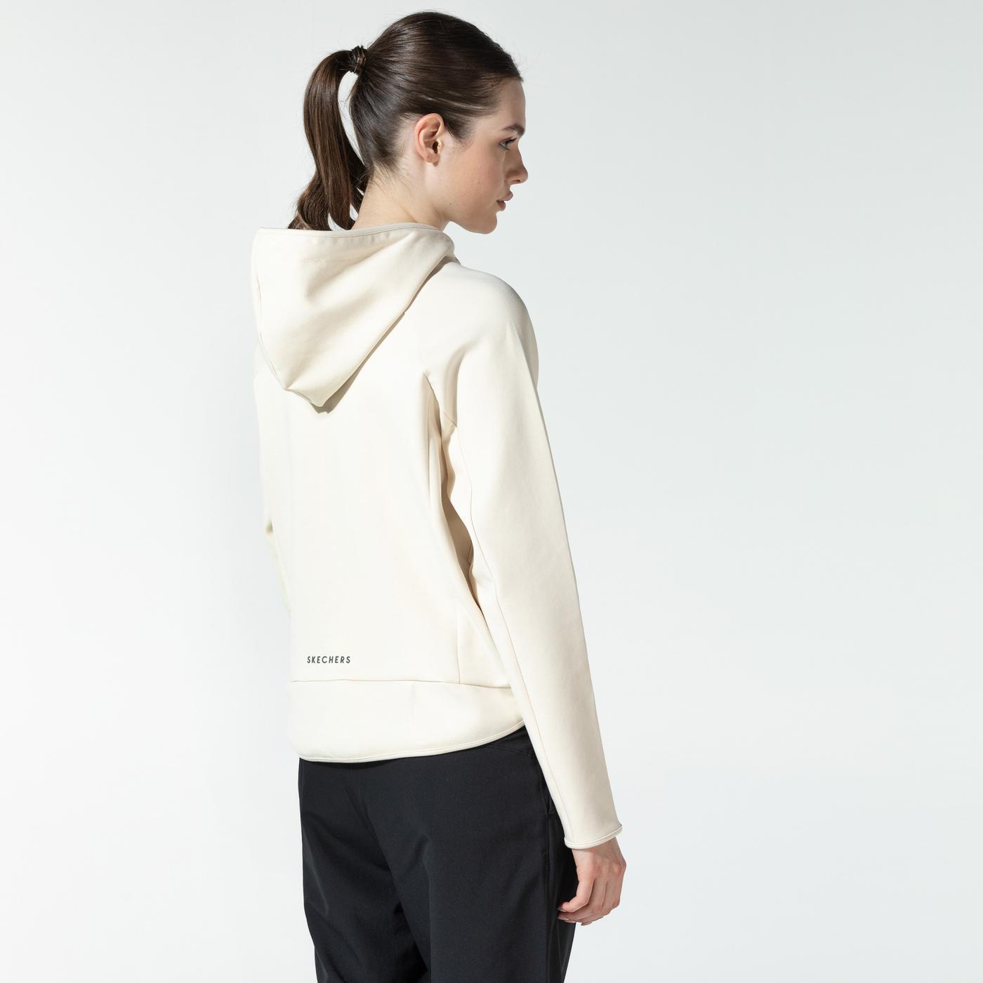 Skechers 2X-i Lock Kadın Beyaz Sweatshirt
