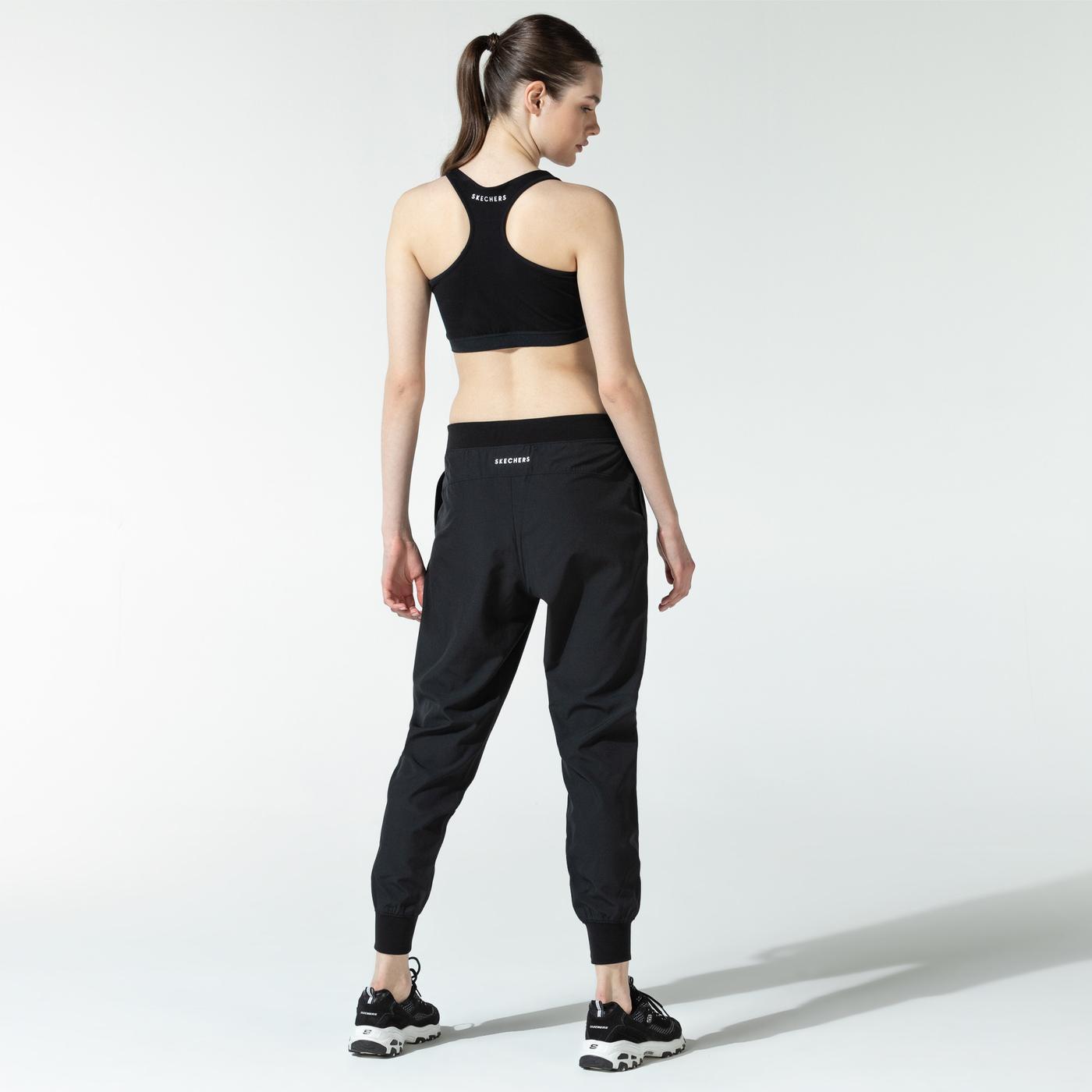 Skechers Micro Kadın Siyah Eşofman Altı