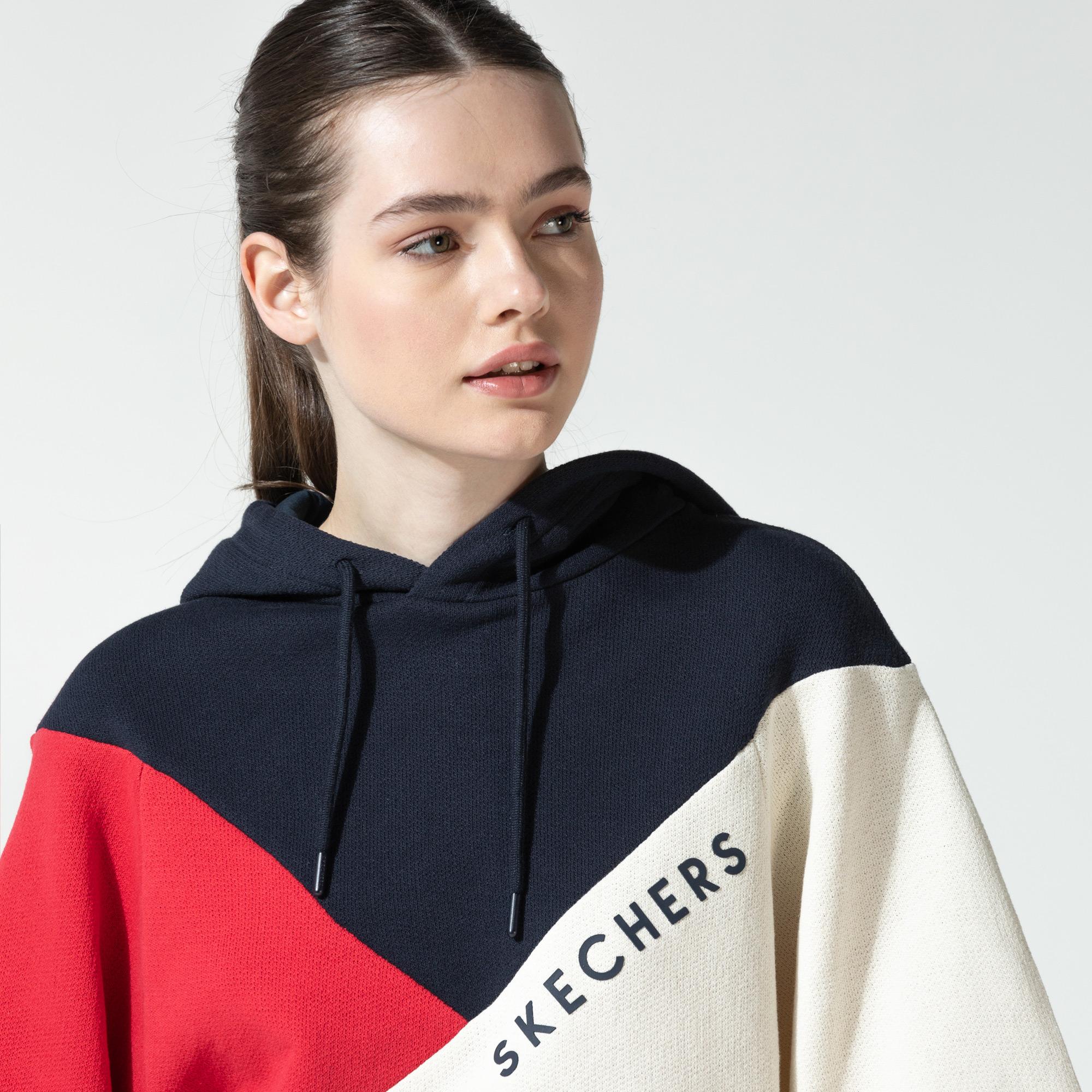 Skechers Fleece Kadın Renkli Sweatshirt