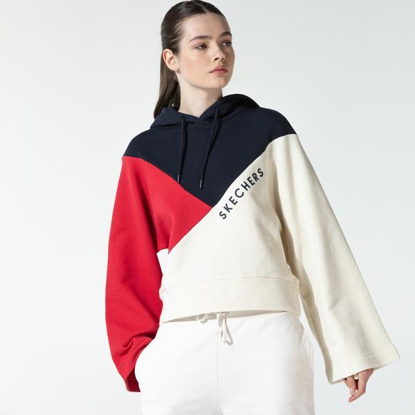Skechers Fleece Kadın Lacivert Sweatshirt