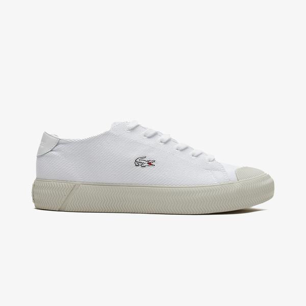 Lacoste Gripshot 1121 1 Cfa Kadın Beyaz Spor Ayakkabı