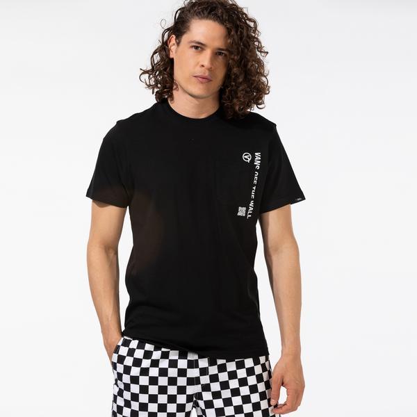 Vans Quick Response Pocket Erkek Siyah T-Shirt