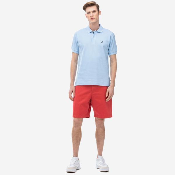Nautica Erkek Slim Fit Kırmızı Bermuda Şort