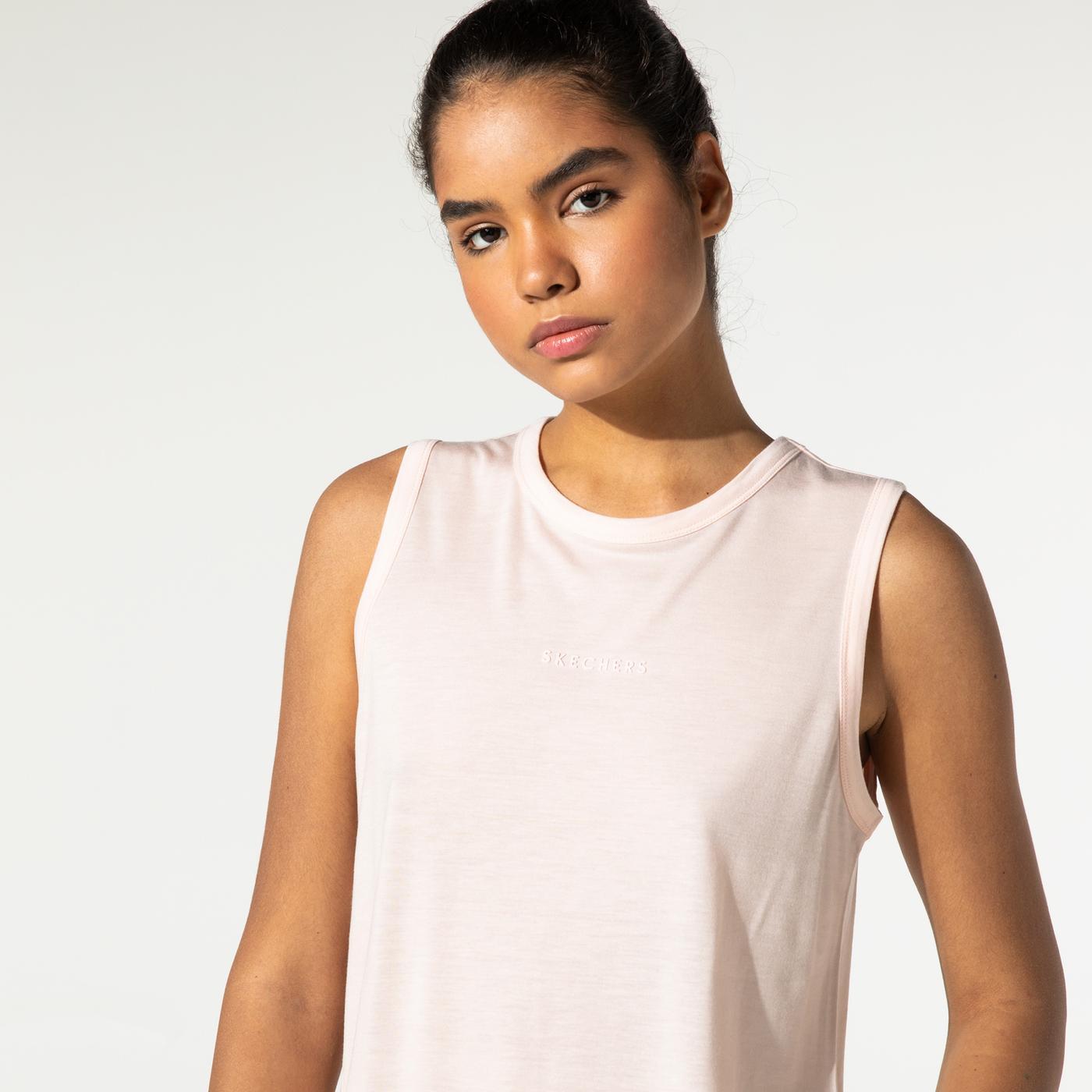Skechers Graphic Kadın Pembe T-Shirt